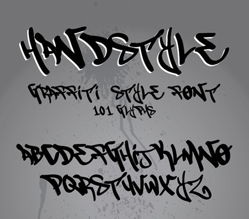 15 Dope Graffiti Fonts