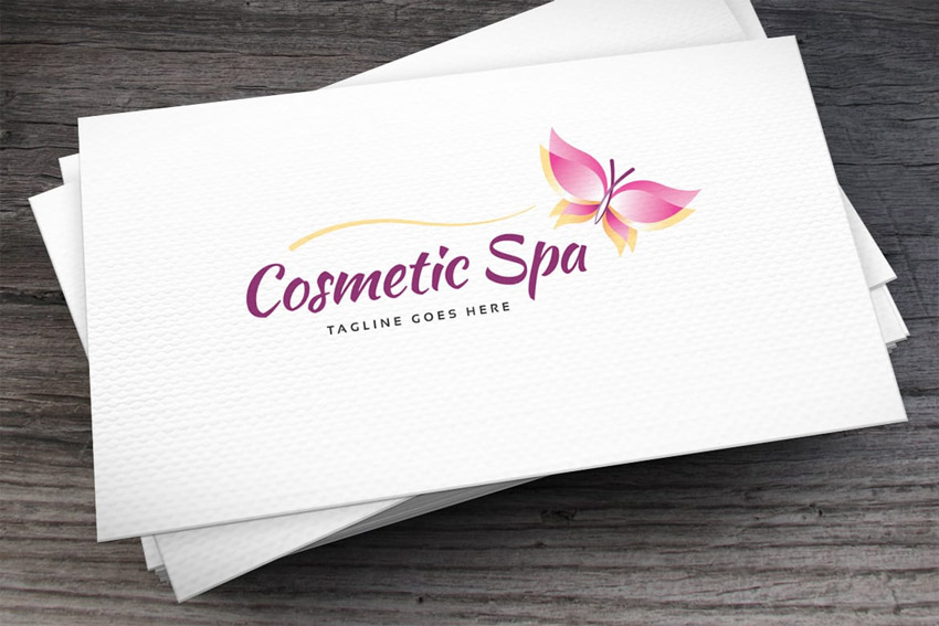 Cosmetic Spa Logo Template