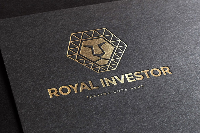 Royal Polygon Logo Template