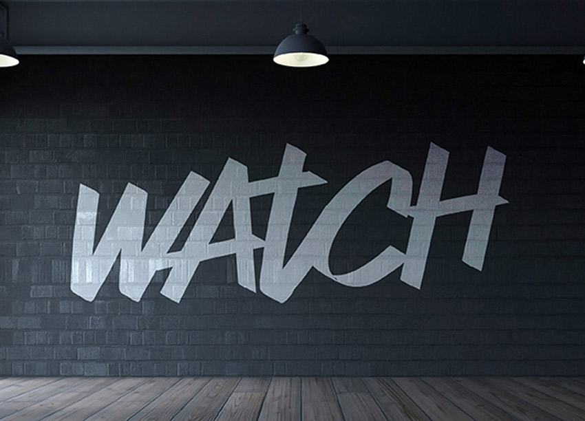 Watch Typeface
