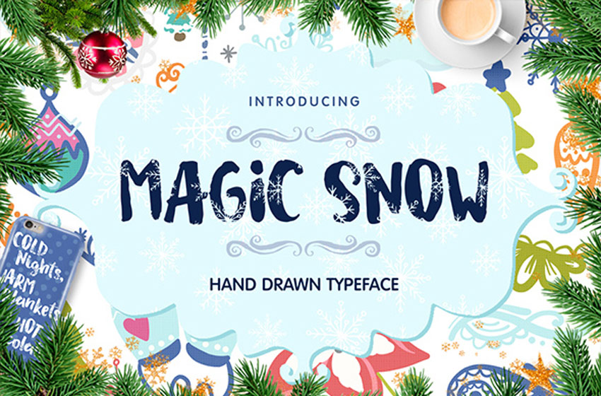 Magic Snow Typeface