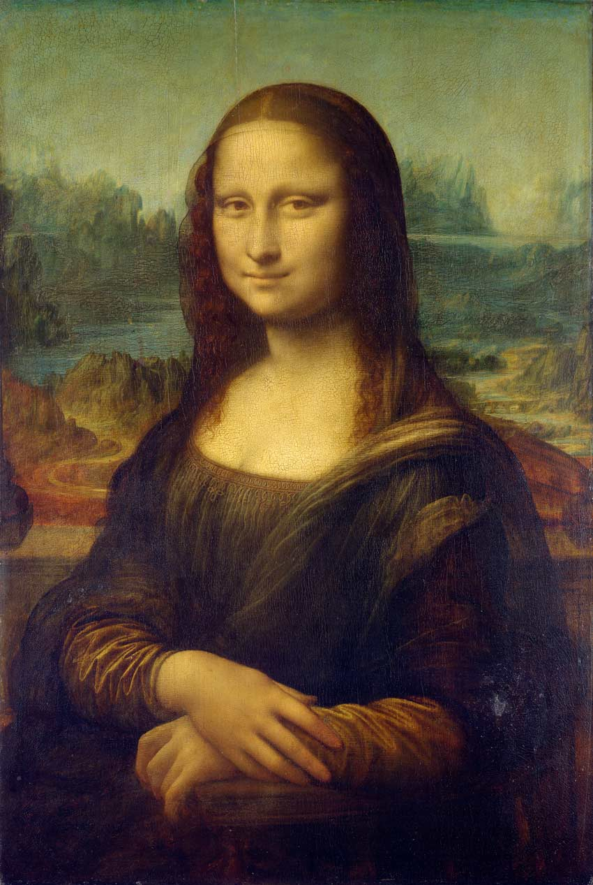 The Mona Lisa by Leonardo da Vinci