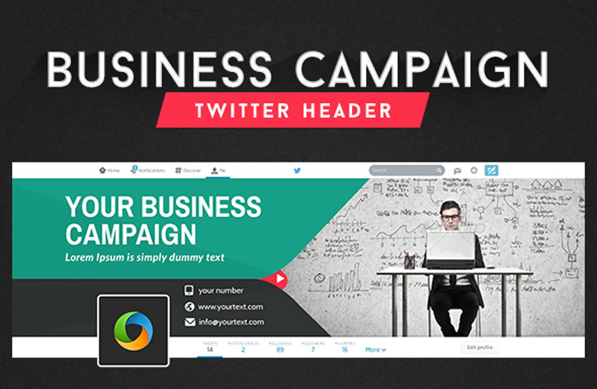 Business Twitter Header