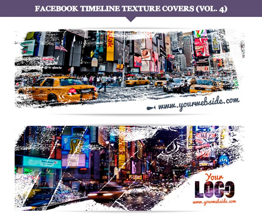 Facebook Timeline Texture Covers