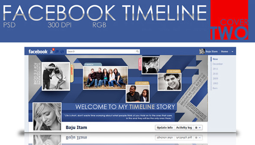 Facebook Timeline Cover Two