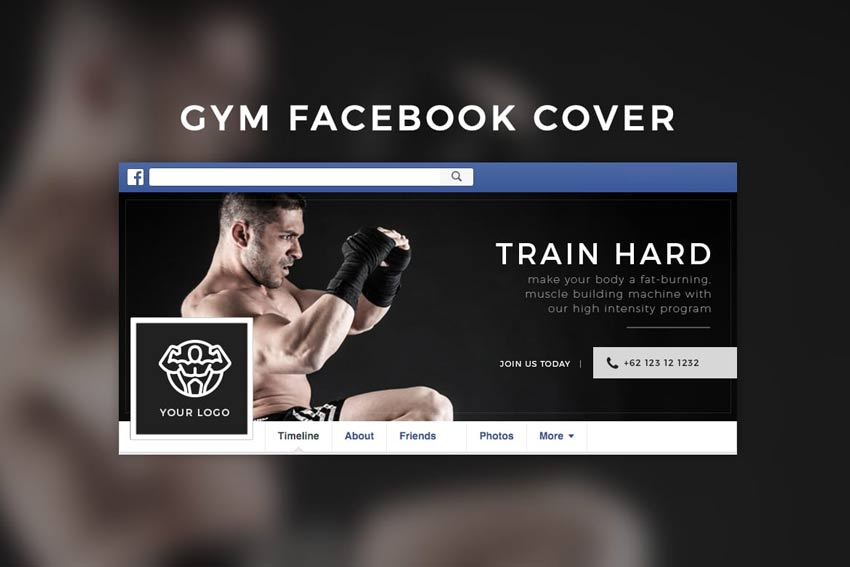 Gym Facebook Cover