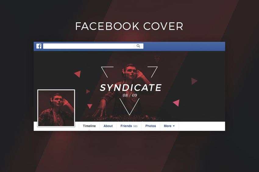 Dj Music Facebook Cover