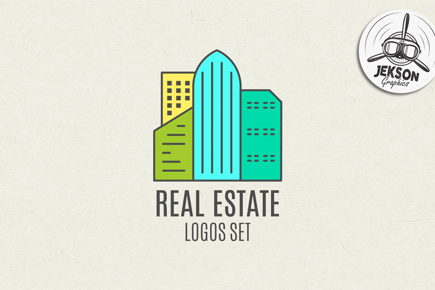Real Estate Logo Set