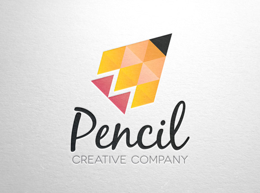 Pencil Creative Logo Template