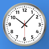 Realistic Clock in Sketch