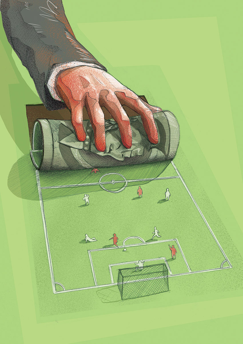 Big Politics Money and Football by Jakub Cichecki
