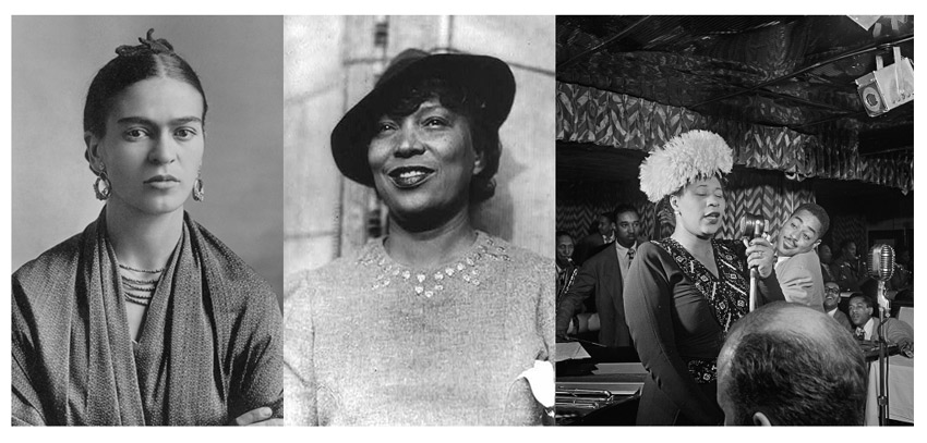 Historial References Frida Kahlo Ella Fitzegrald and Zora Neale Hurston