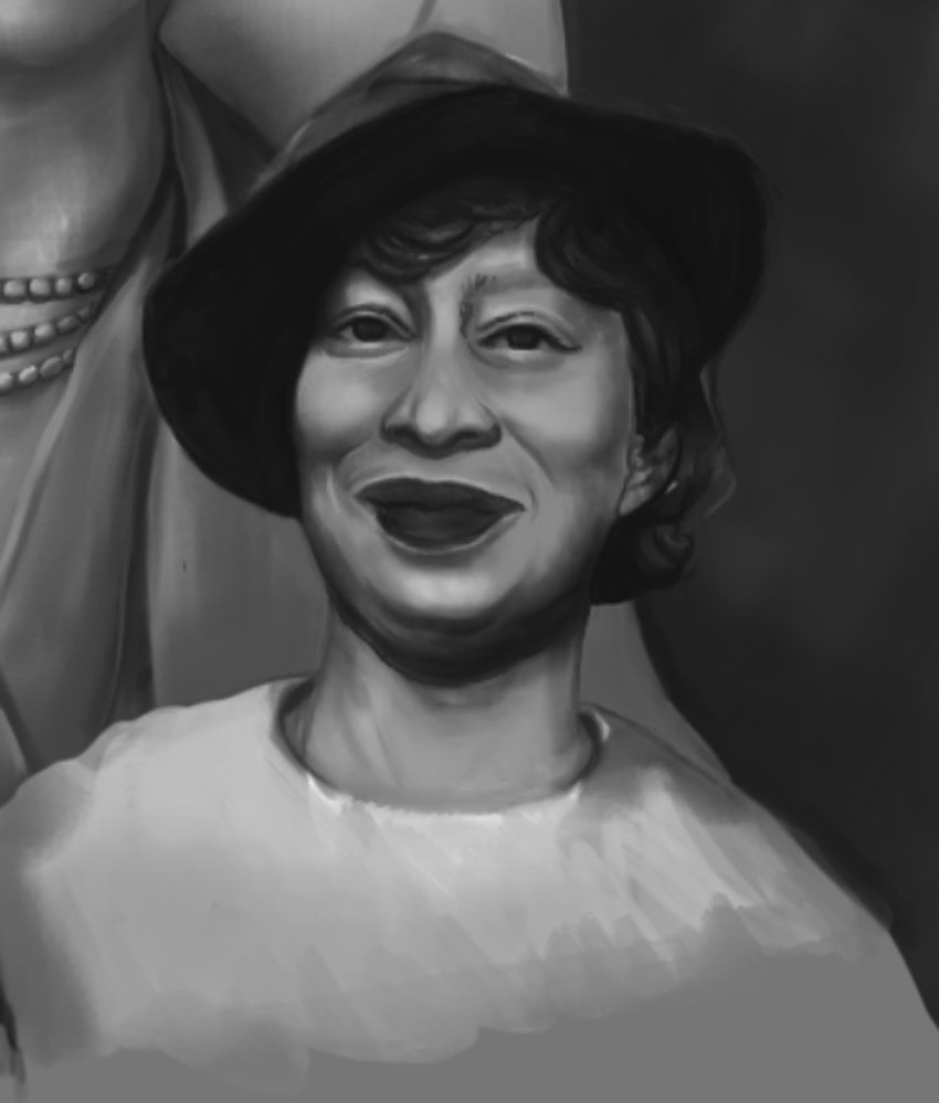 Zora Painting Progress
