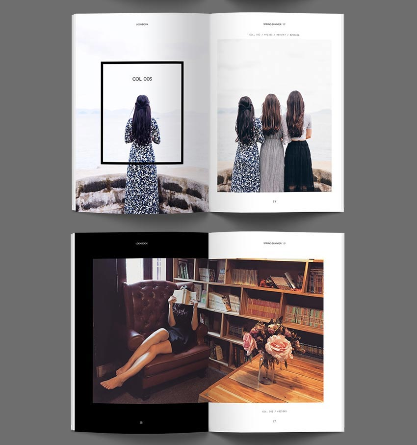Lookbook Catalog InDesign Template