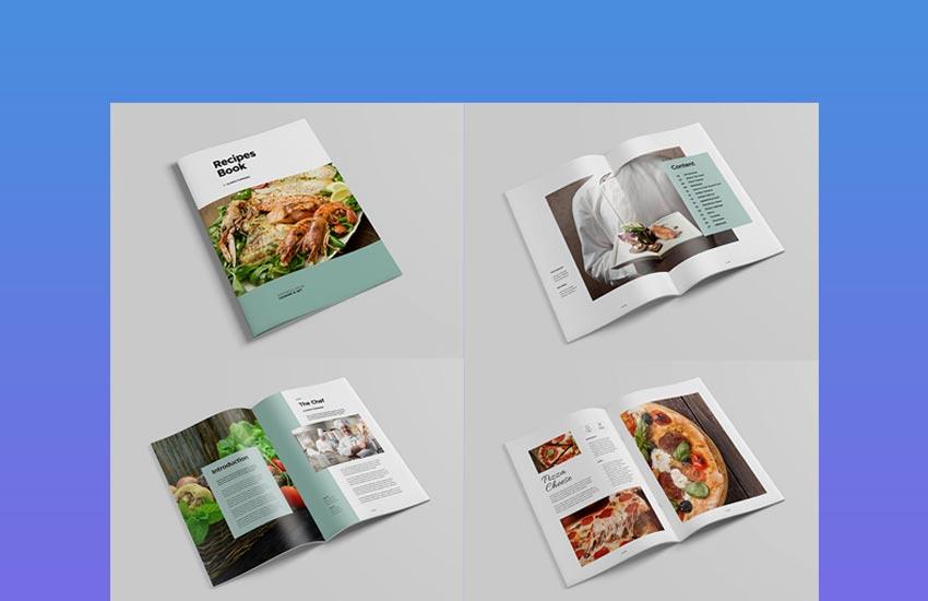 Cookbook InDesign Template