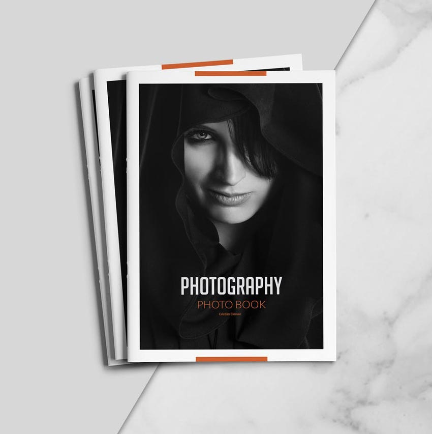 Photography InDesign Portfolio Template