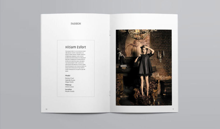 Creative InDesign Portfolio Template