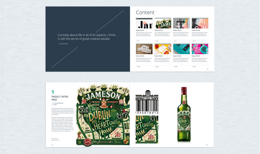 Multipurpose Creative Portfolio InDesign Template