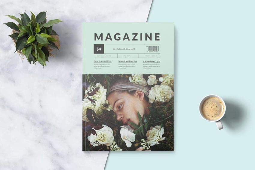 Trend-Driven Magazine Template