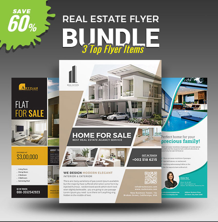40 professional real estate flyer templates themekeeper 40 professional real estate flyer templates saigontimesfo