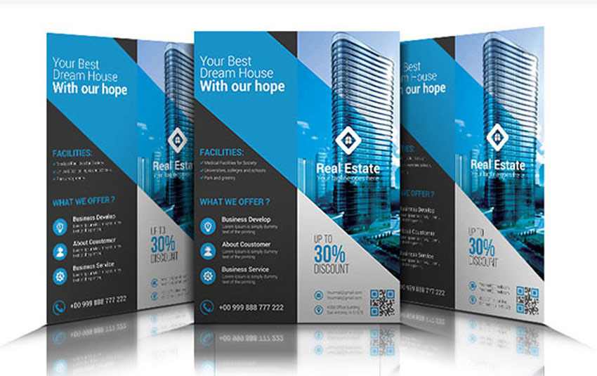 scribus brochure templates - 40 professional real estate flyer templates