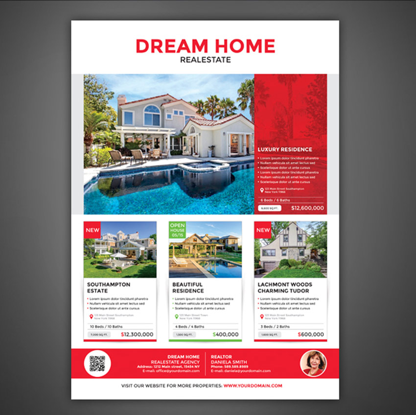 Real Estate Flyer - Magazine AD