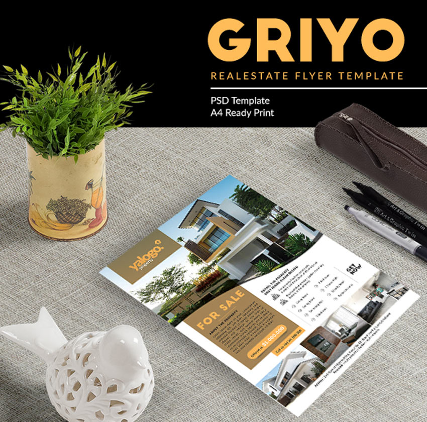 Griyo Real Estate Flyer