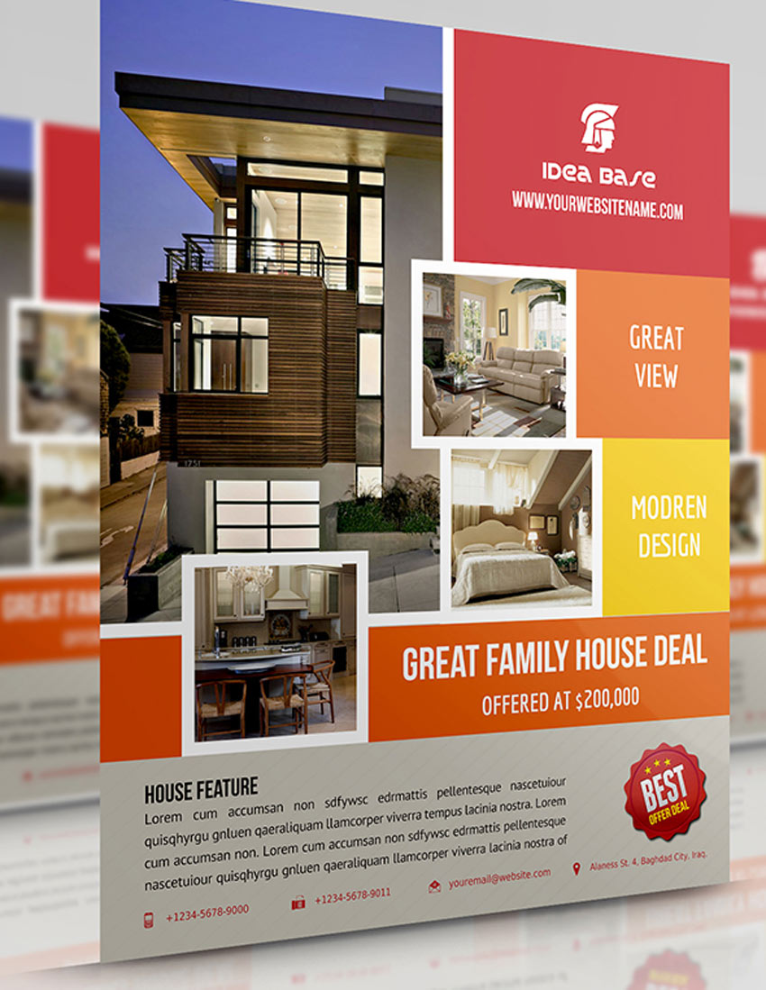Real Estate Flyer Vol5