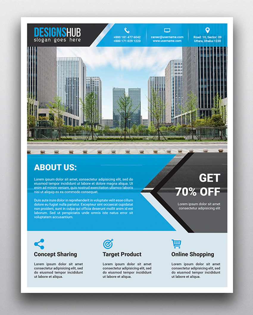 Multipurpose Real Estate Flyers