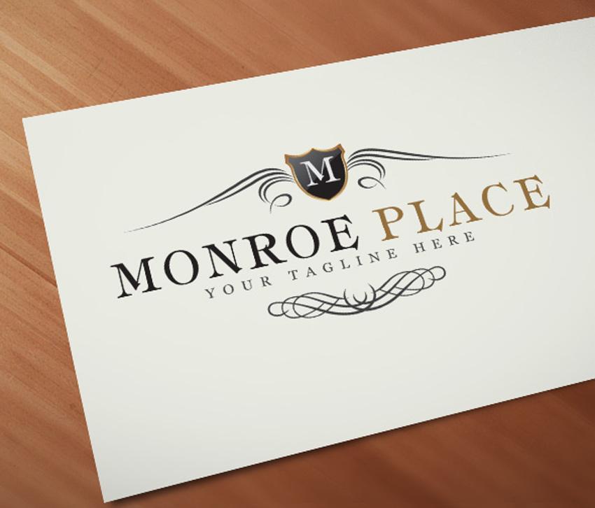 Monroe Crest Logo