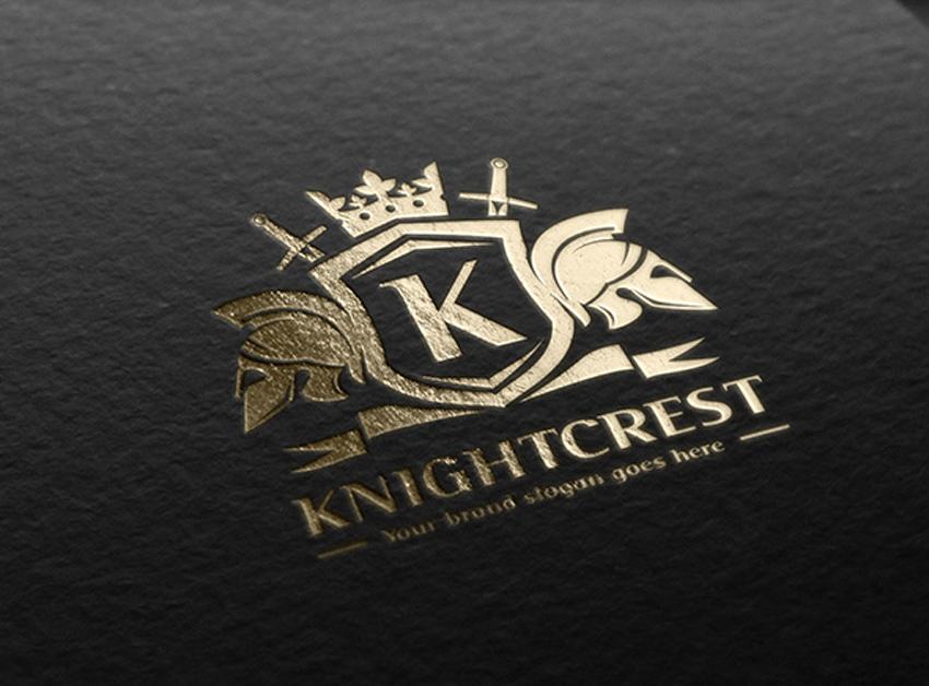 Knight Crest Logo