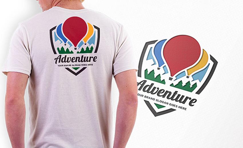 Adventure Crest Logo