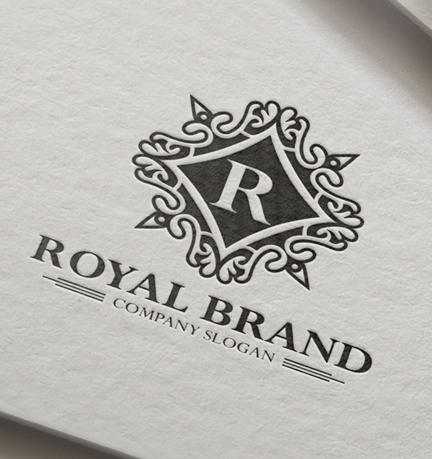 Royal Brand Crest Logo