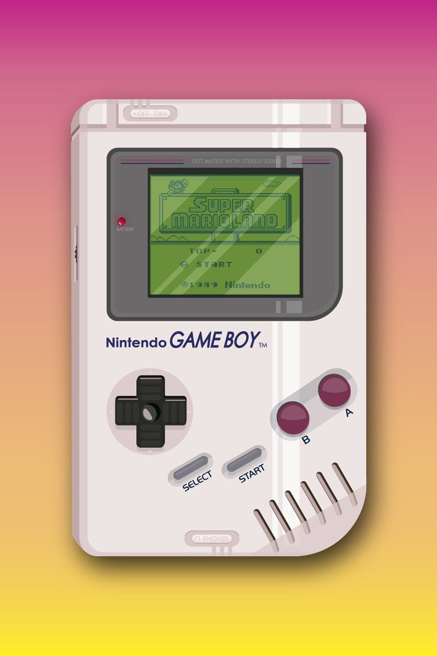 Game Boy Vector Illustration Tutorial