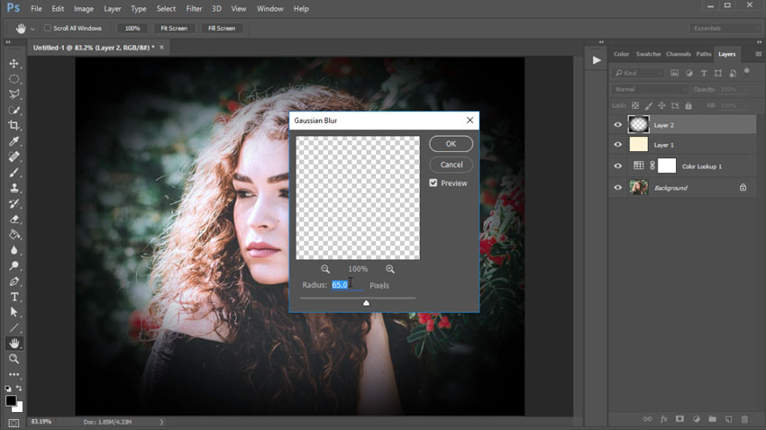 How to Create an Instagram Filter Photoshop Action in 60 Seconds
