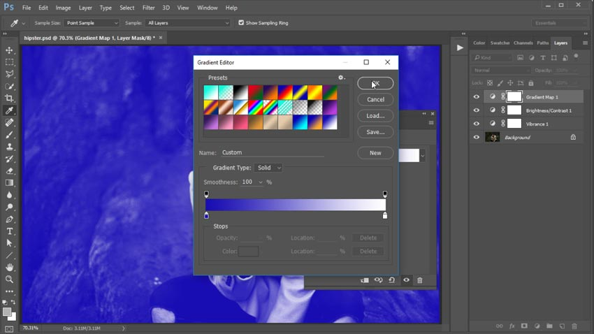 Photoshop in 60 Seconds: Create a Trendy, Colorful Action