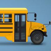 School Bus Illustration in Adobe Illustrator