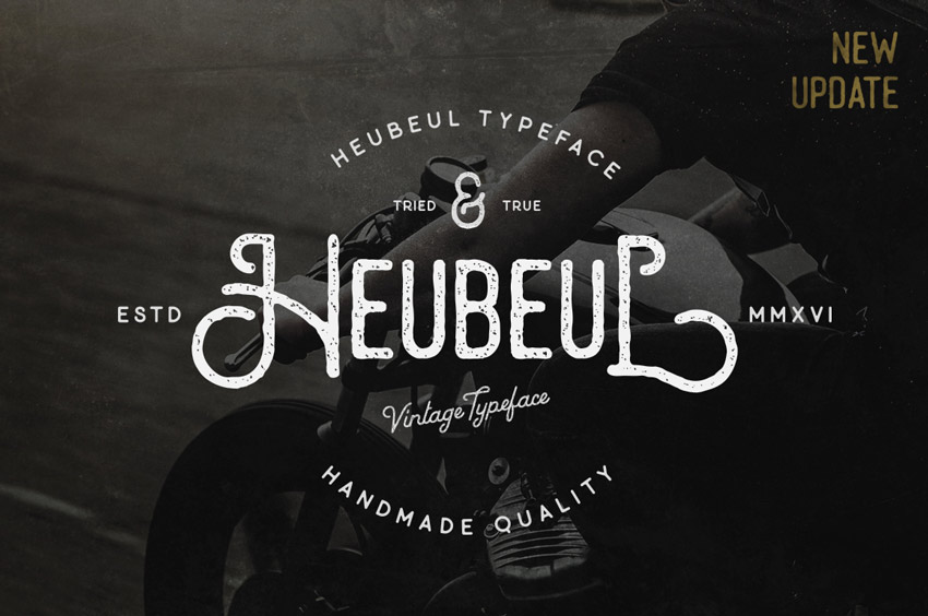 25 Stylish Vintage Fonts