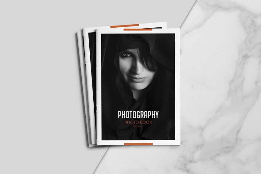 InDesign Photography Portfolio