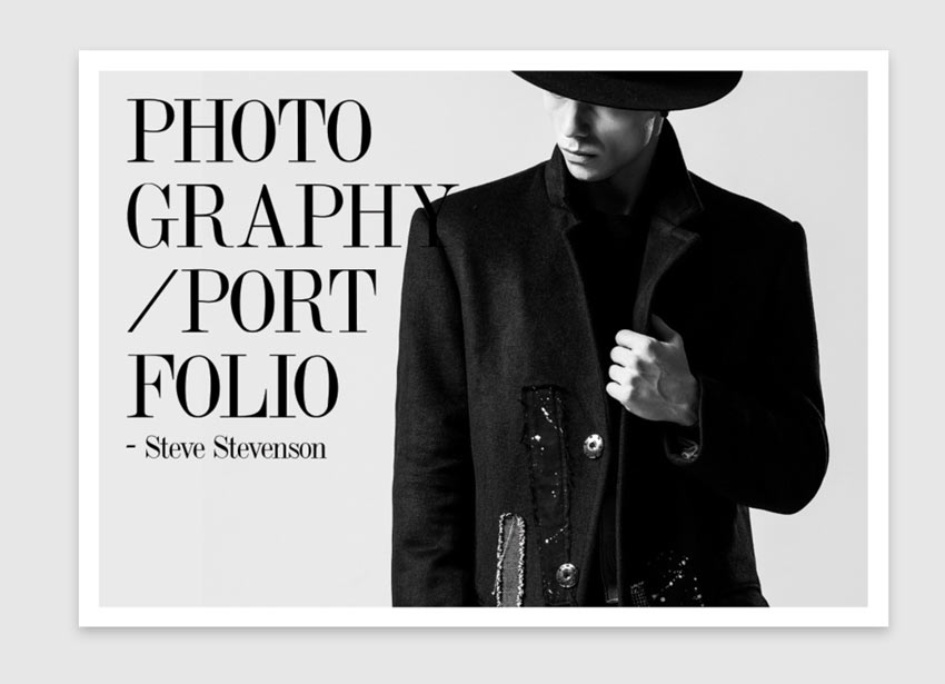 How to Make a Fashion Photography Portfolio