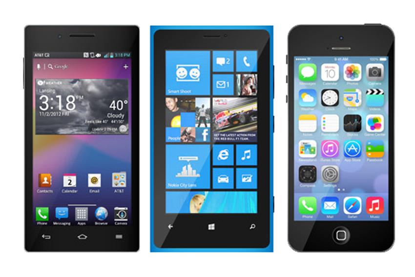 31 Premium iPhone and Smartphone Mockups