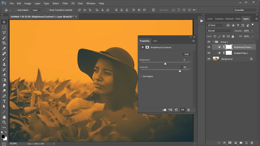 Photoshop in 60 Seconds: How to Create a Vibrant Duotone Action