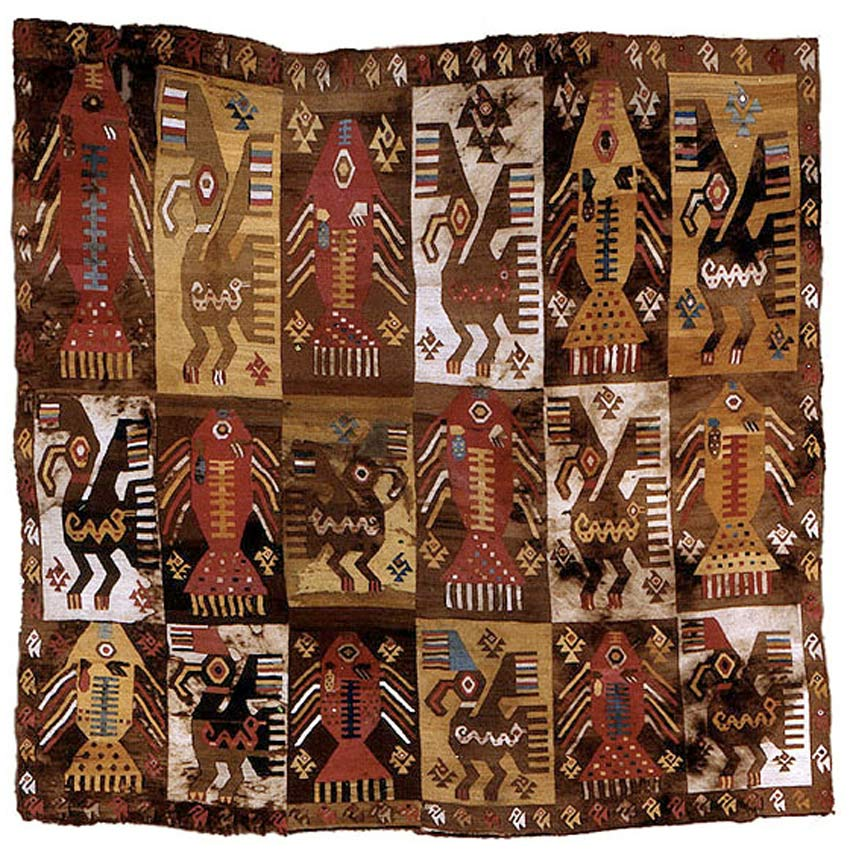 Chimu Mantle Textile