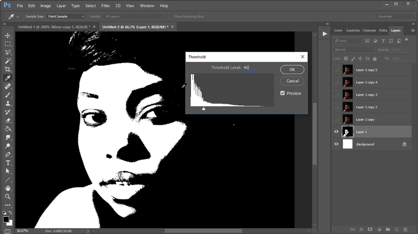 How to Create a Money Engraving Action: Photoshop in 60 Seconds