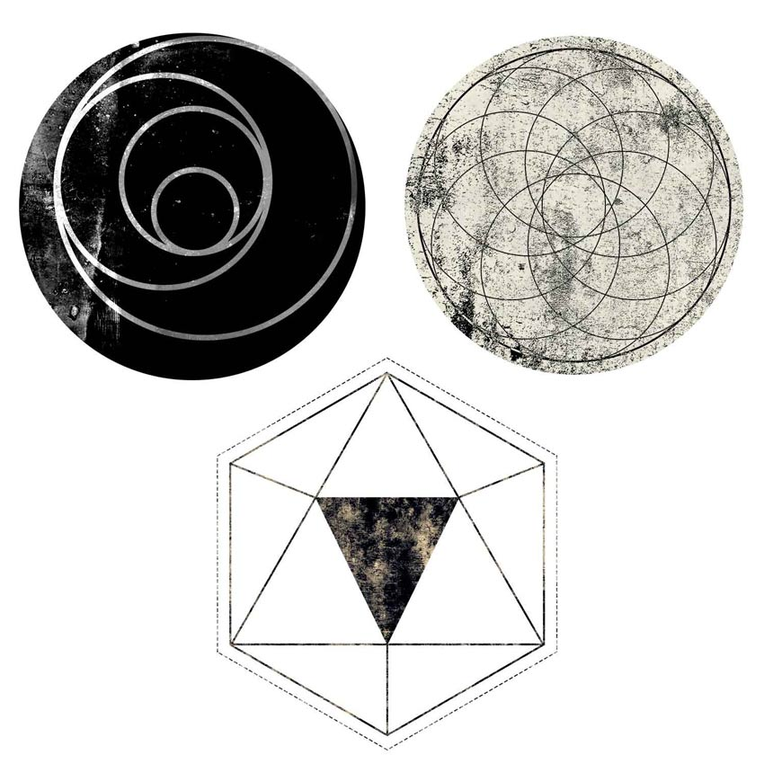 Texture Geometric Objects Photoshop Tutorial