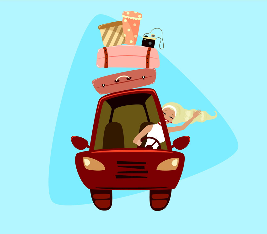Summer Road Trip Illustration Adobe Illustrator Tutorial