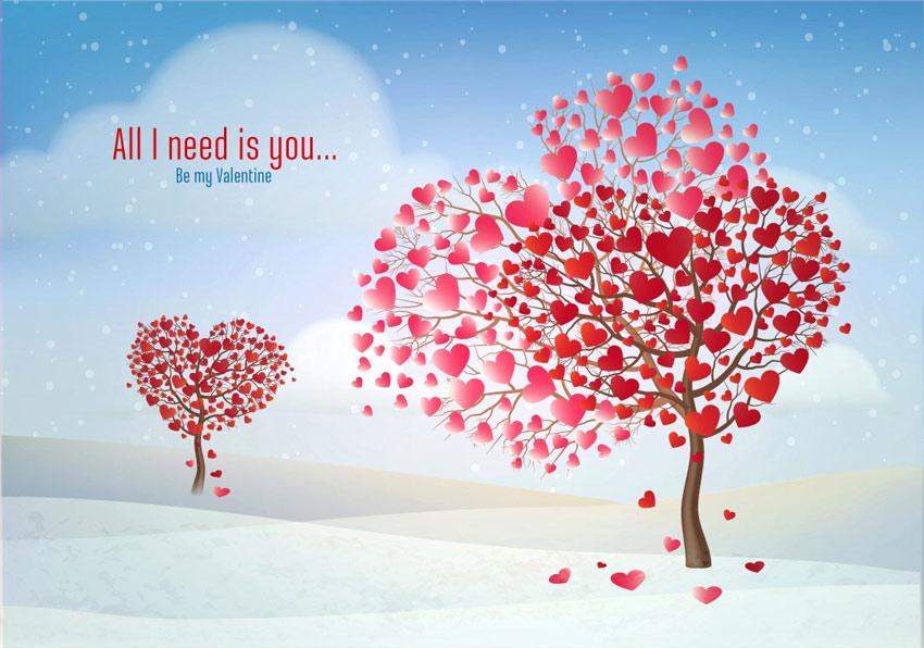 Heart Shaped Tree Adobe Illustrator Tutorial