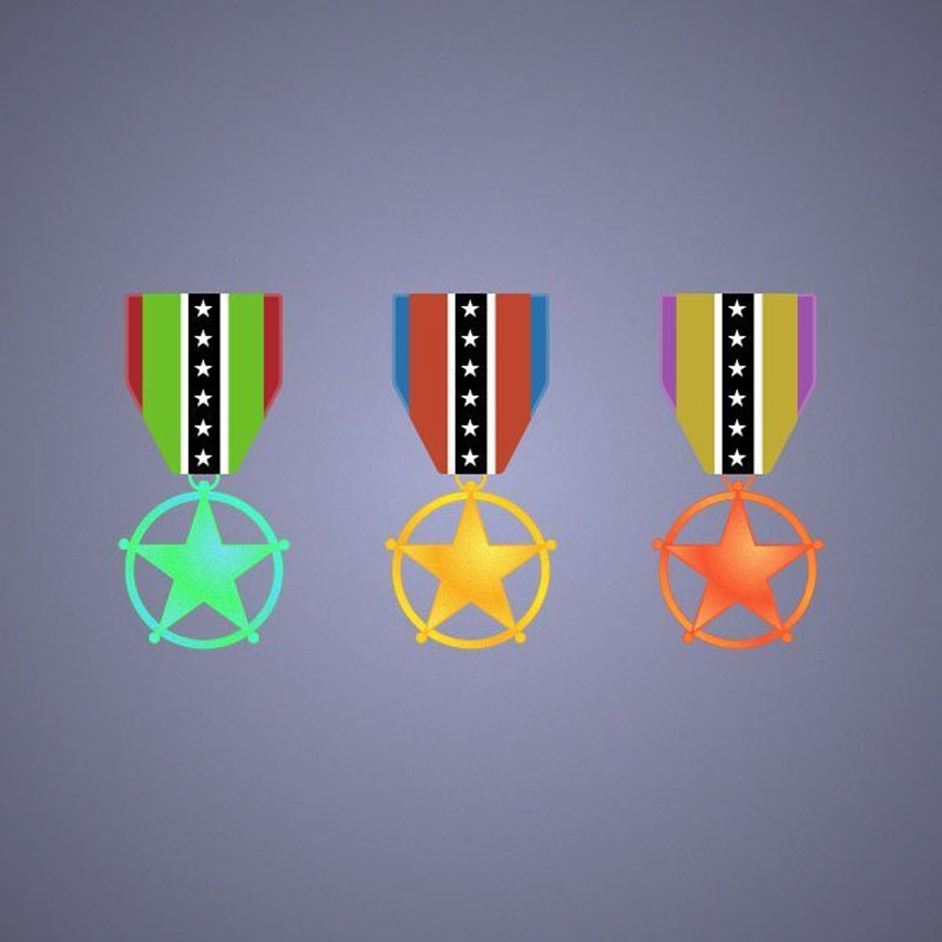 Award Medal Icon Adobe Illustrator Tutorial