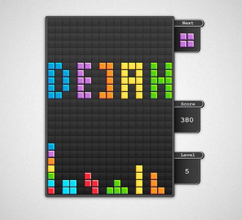 Block Game Interface Adobe Illustrator Tutorial