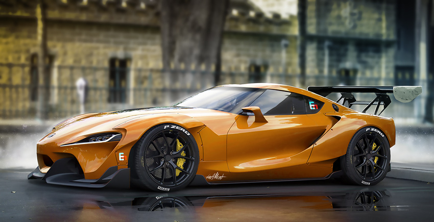 Toyota FT1 Wide Body Kit by Esa Mustonen